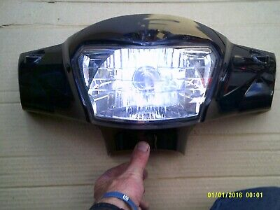 nipponia miro 125 head light lamp plastic cowel fairing  2016