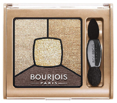 Bourjois Smoky Stories Quad Eyeshadow Palette I Gold It 16