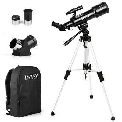 INTEY Astronomy Telescope, 70mm Refractor Telescope for Kids and