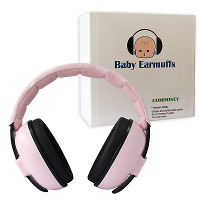 Comhoney Baby Ear Muffs Infant Hearing Protection Foldable and Adjustable Kids &