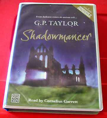 G.P.Taylor Shadowmancer 8-Tape UNABRIDGED Audio Book Cornelius Garrett Fantasy