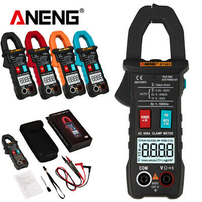 ANENG Digital LCD Multimeter Amper Clamp Meter AC/DC Current Voltage Tester Tool
