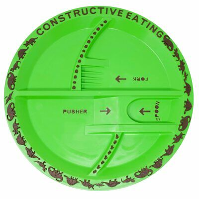 Constructive Eating, Dino Plate