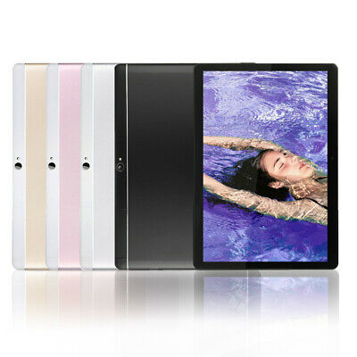 10.1'' Android 8.1 Tablet  PC 4+64GB  Octa-Core Dual SIM &Camera Wifi Phablet UK