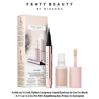 FENTY BEAUTY BY RIHANNA Fly Baby Mini Eye Primer and Liner Set, Limited Edition