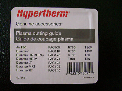 ONE-NEW Hypertherm Deluxe Circle Cutting Guide (027668)F/S