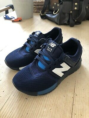 UK 2.5/'s FREE UK P/&P New Boxed Sprox Boys Multi Blue Trainers Size UK 11/'s