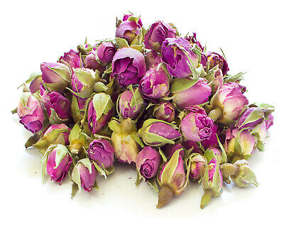 Dried Pink Rose Buds Resin Tea making Bath Bomb Candle Soap Wedding Confetti