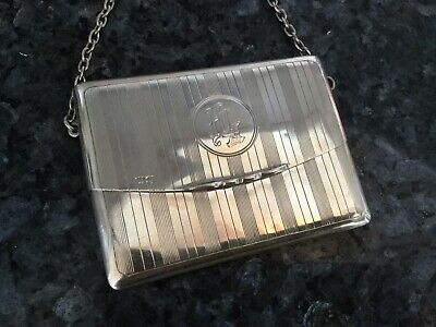 Samson Mordan Solid Silver Card/Purse Case - 1911