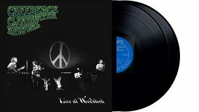 Creedence Clearwater Revival - Live At Woodstock 2 x VINYL LP NEW (28TH AUG)