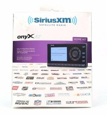 Sirus/XM Onyx Portable Satellite Radio System ~ EUC ~ Tested