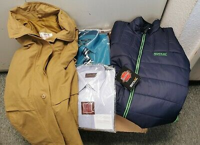Large Box Of Mens Clothes, Wholesale, Joblot, Carboot (EB)