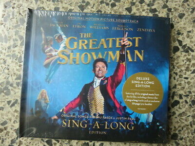 The Greatest Showman Sing A Long Edition Two Cd Set. Brand New & Sealed. Freepos