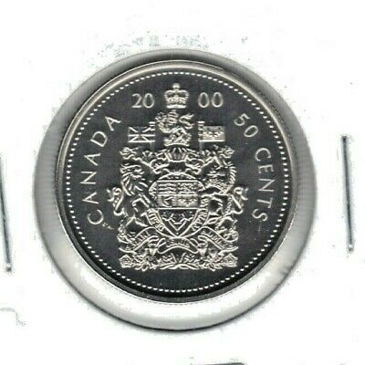 Canada 2000 Specimen Fifty Cent Coin