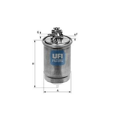 Fits VW Caddy MK4 1.6 TDI Genuine UFI Fuel Filter