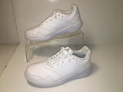 Adidas  Running AltaRun  Juniors Kids  Sz 3  Trainers Shoes  White Leather