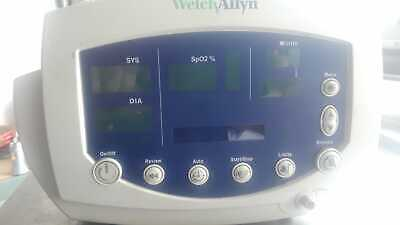 Welch Allyn 53nto Vital Sign Monitor On Rolling Stand