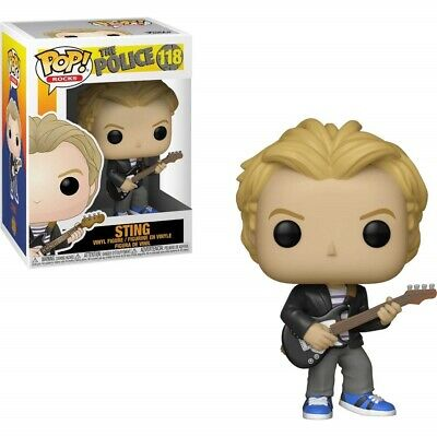 Funko - POP Rocks - The Police - Sting Brand New In Box