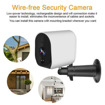 Waterproof 1080P WIFI Wireless Battery IP Camera Home Outdoor Security System