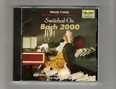 (CD) Switched on Bach 2000 - WENDY CARLOS - TELARC 80323