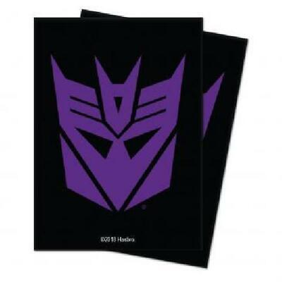 Ultra Pro Transformers Decepticons Standard Deck Protector Sleeves New TD2