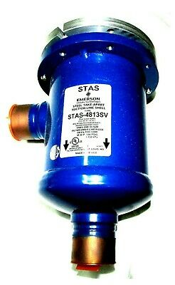 Emerson STAS-4813SV Steel TakeE-Apart Filter Drier Suction Line Shell