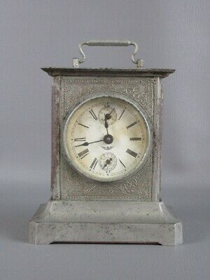 Antique Watch Mechanical Table with Alarm Chime First Xx Century