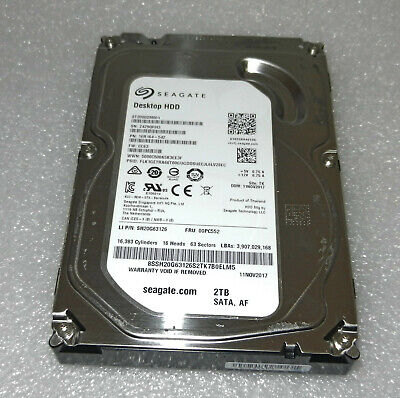 "Seagate Barracuda 2 TB Internal 3.5"" SATA Hard Drive ST2000DM001"