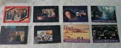 8 x Star Trek Skybox Trading Cards LOT 12