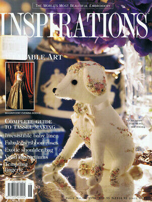 INSPIRATIONS MAGAZINE issue 18 pattern sheets are attached