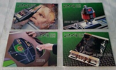4 x Star Trek Voyager 24th Tech Skybox Trading Cards LOT 11