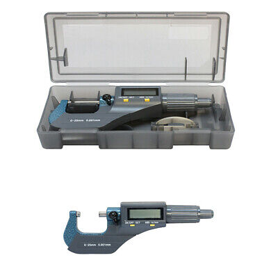 Electric Digital Micrometer Mechanical Tool .00005'' Resolution