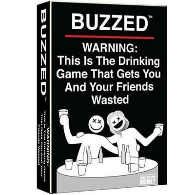 Buzzed Drinking Game Party card Game Melbourne