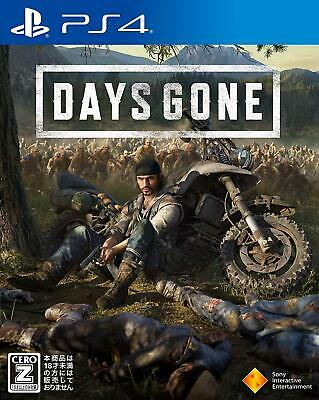 Used PS4 Days Gone Japan Import