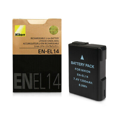 EN-EL14 Battery For Nikon P7800 P7700 D5100 D5200 D5300 D3100