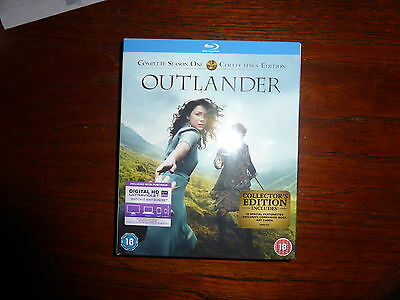 OUTLANDER Complete Season Series 1  Blu Ray LIMITED COLLECTOR'S EDITION*