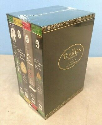 Lord of the Rings & The Hobbit Boxed Set of Books by Tolkien NEW & SEALED