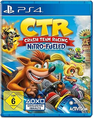 CTR Crash Team Racing Nitro Fueled Wie Neu Top USK 16