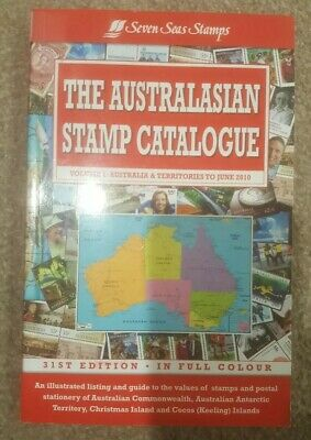SEVEN SEAS AUSTRALIAN STATES COLONIES STAMP CATALOGUE in Colour