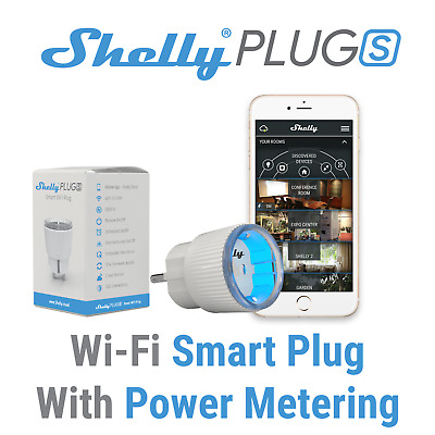 SHELLY 1 PM One Smart Wireless Relay Switch WiFi Open Source Home