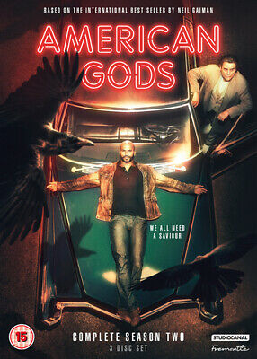 American Gods: Complete Season Two DVD (2019) Ricky Whittle ***NEW***