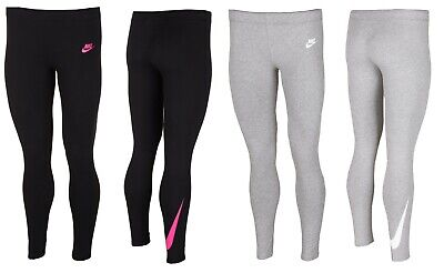 Nike Junior Girls Leggings Leggins Jogging Bottoms Running Pants Gym 10-13 Years