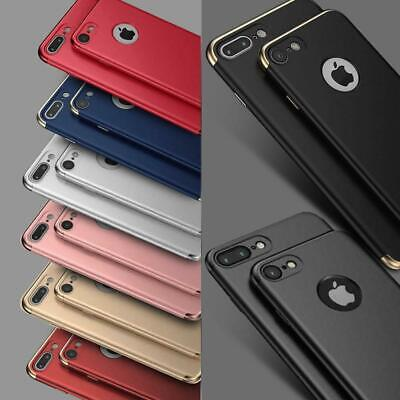 Case for iPhone 8 7 6 6s Plus XR XS MAX ShockProof Slim Phone Cover Hybrid