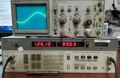 Hewlett Packard Agilent HP 8903B Audio Analyzer 20Hz-100KHz 013 051 Tested