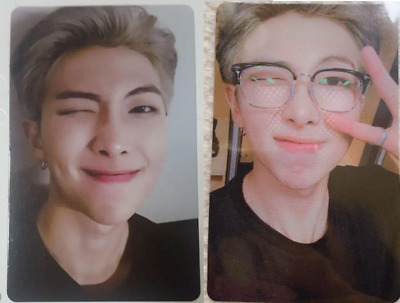 BTS LOVE YOURSELF RM WORLD TOUR Photocard NEW YORK EUROPE DVD Official Set FC MD