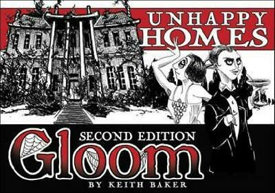 Gloom: Second Edition Unhappy Homes Expansion (Atlas Games) AG1352 NM TD2