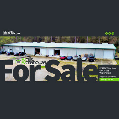 E--Commerce 20,000 sq-ft Distribution warehouse w/ Offices 1.75+ Acres