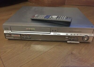 VHS  to DVD to HDD transfer..Panasonic DMR-EH80 inc REMOTE CONTROL original
