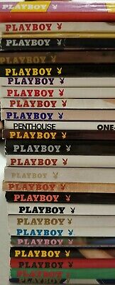 Lot Of 26 Playboy Magazines