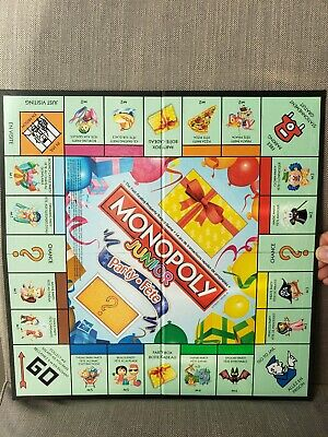 Monopoly Junior Party Bilingual English and French Hasbro NEW for Kids Age 5+